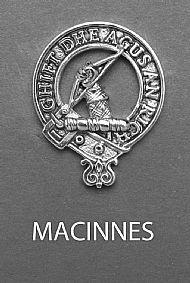 Clan MacInnes Brooch