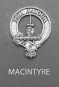 Clan MacIntyre Brooch