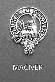 Clan MacIver Brooch