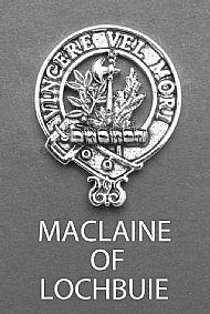 Clan MacLaine of Lochbuie Brooch