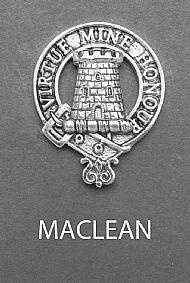 Clan MacLean Brooch
