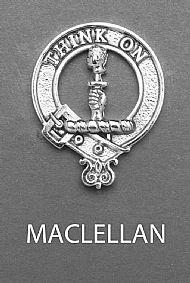 Clan MacLellan Brooch