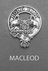 Clan MacLeod Brooch
