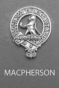 Clan MacPherson Brooch