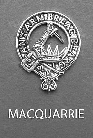 Clan MacQuarrie Brooch