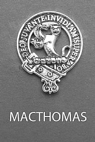 Clan MacThomas Brooch