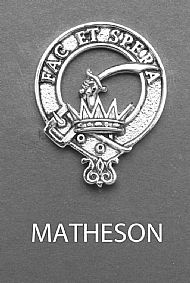 Clan Matheson Brooch