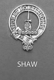 Clan Shaw Brooch