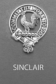 Clan Sinclair Brooch