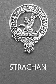 Clan Strachan Brooch