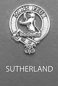 Clan Sutherland Brooch