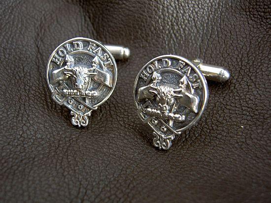 silver clan cufflinks