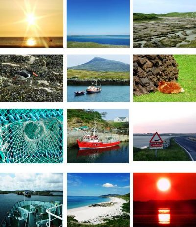 benbecula collage