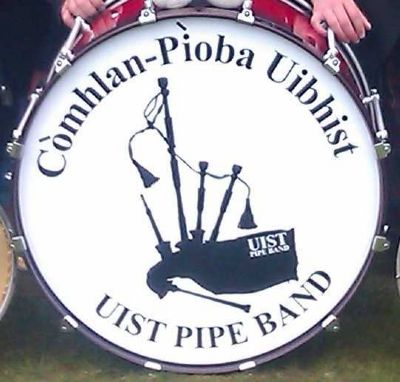 uist pipe band bass drum