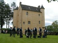 the band at kinkell castle