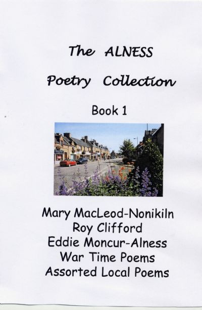 Poetry Anthology Book Cover : Shop alness heritage centre books
