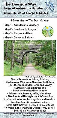 The Deeside Way Maps