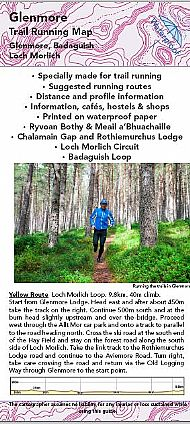 Glenmore Trail Running Map
