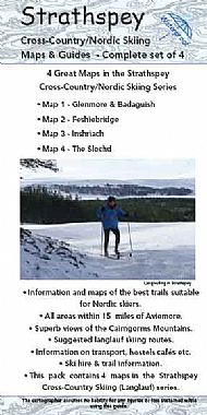 Strathspey Cross Country Ski Maps