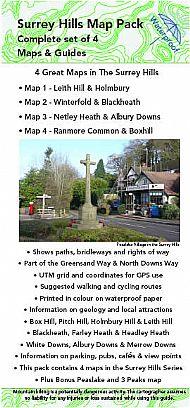 Surrey Hills Map