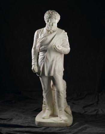 amelia paton's statue of hugh miller