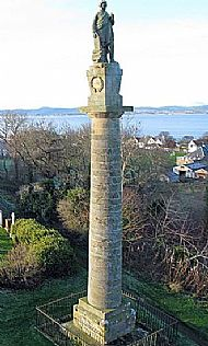 hugh miller monument - cromarty
