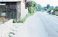 norris road towards murcott road - summer 1975