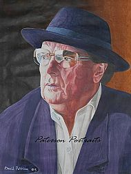 van morrison portrait by david paterson