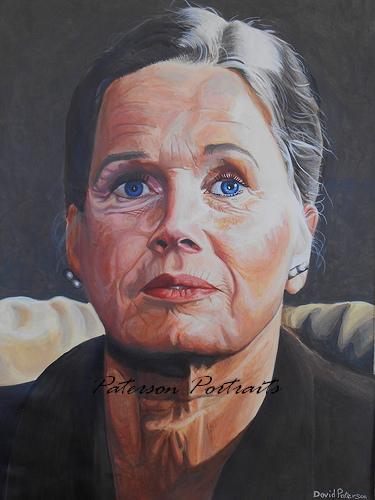 ingrid bergman portrait by david paterson