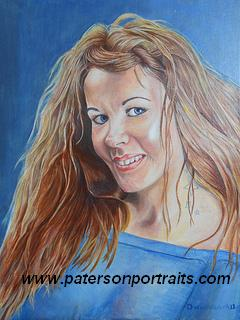 oil portrait by david paterson