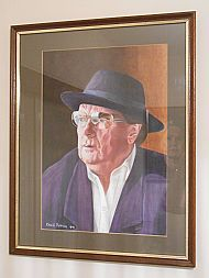 framed van morrison by david paterson