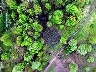 The Labyrinth from above
