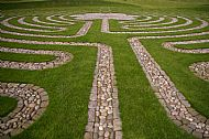 labyrinth at maggies centre dundee