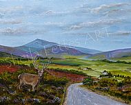 Ben Rinnes and stag