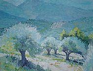 Midday sunlight Crete
