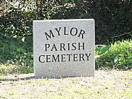 New Sign for Cemetery