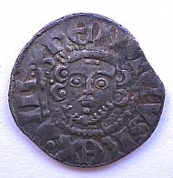 coin from the time of english edward 1