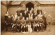 1932 Bourn School Class Photograph