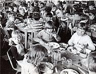 1968 School Dinner Time