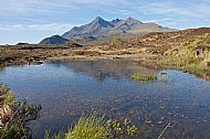 Slighachan and the Black Cuillin