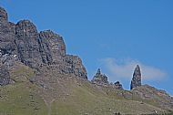 The Old Man of Storr on the Trotternish Ridge