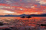 Ord enjoys some wonderful sunsets