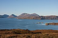 The Red Cuillin and Loch Slapin
