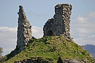 The ruins of ancient Castle Maol at Kyleakin