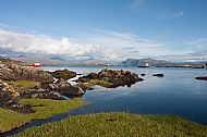 Ardvasar Harbour and Battleship Rock