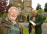 John with Bill Oddie at Aigas