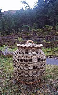 Linen Basket 'Alibaba'