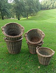 Log Basket (Randed Weave)