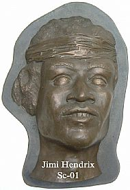 Jimi Hendrix Sculpture