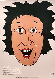 Sir Ken Dodd Mask